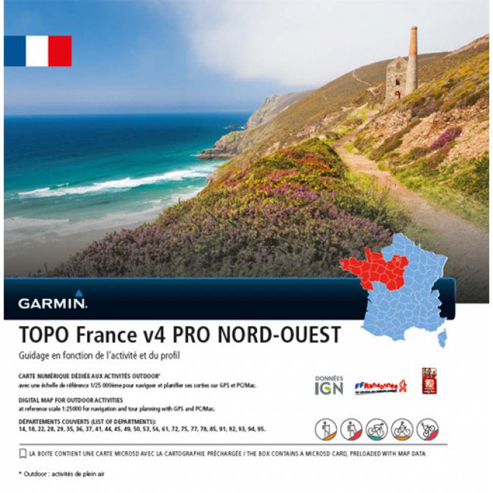 Garmin Topo France SD Northwest