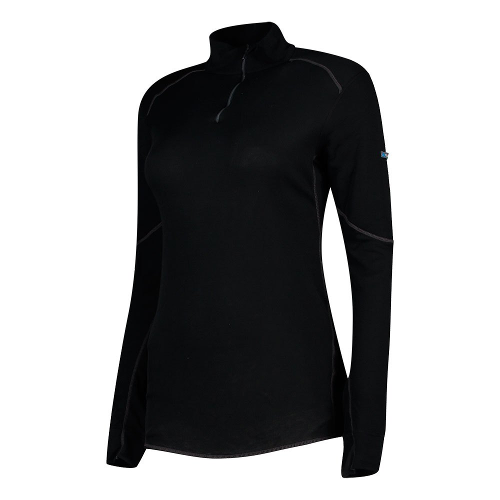 unterwasche-odlo-shirt-x-warm-l-s-turtle-neck-1-2-zip-lady-s-black