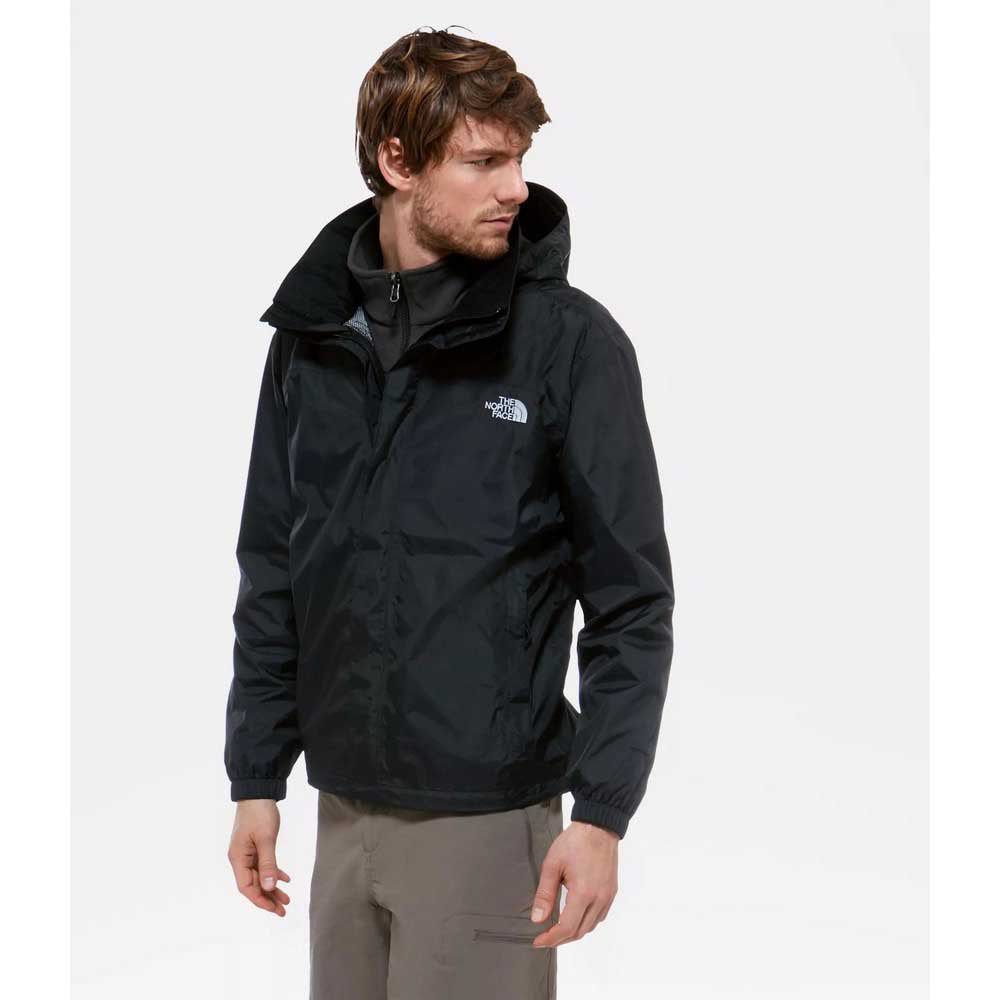 The north face Resolve Hyvent Black Man