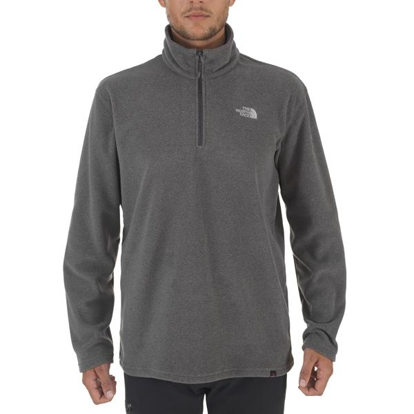 The north face 100 Glacier 1/4 Zipp Polartec Grey