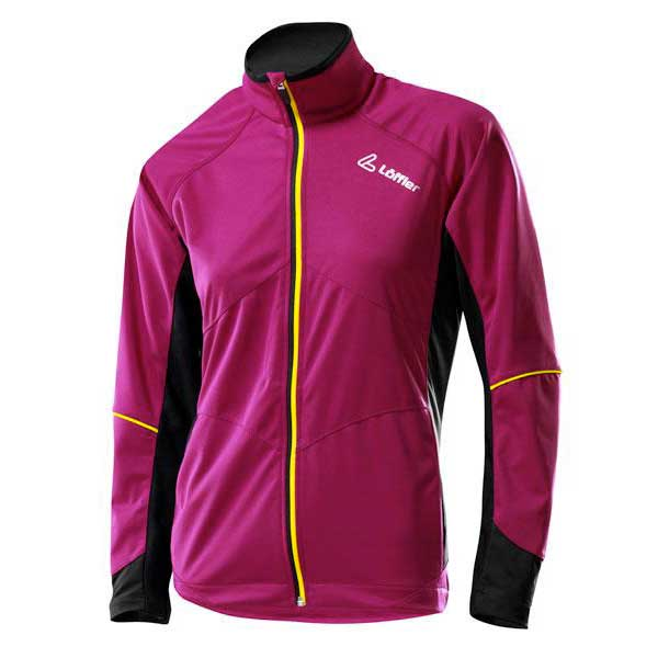 Loeffler WS Softshell Light Raspberry