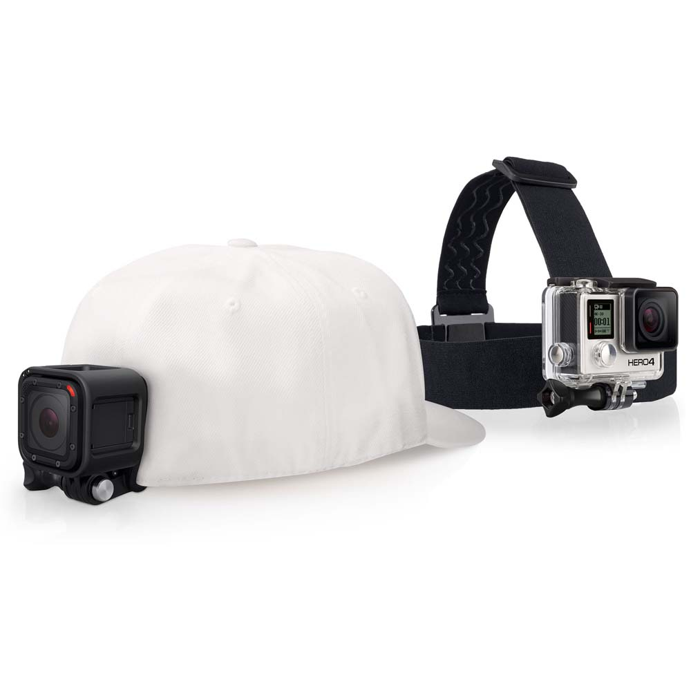 Accesoires Gopro Headstrap And Quickclip For Caps