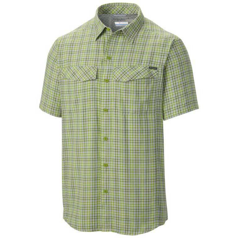 Columbia Silver Ridge Multi Plaid S/S S Cyber Ripstop Plaid