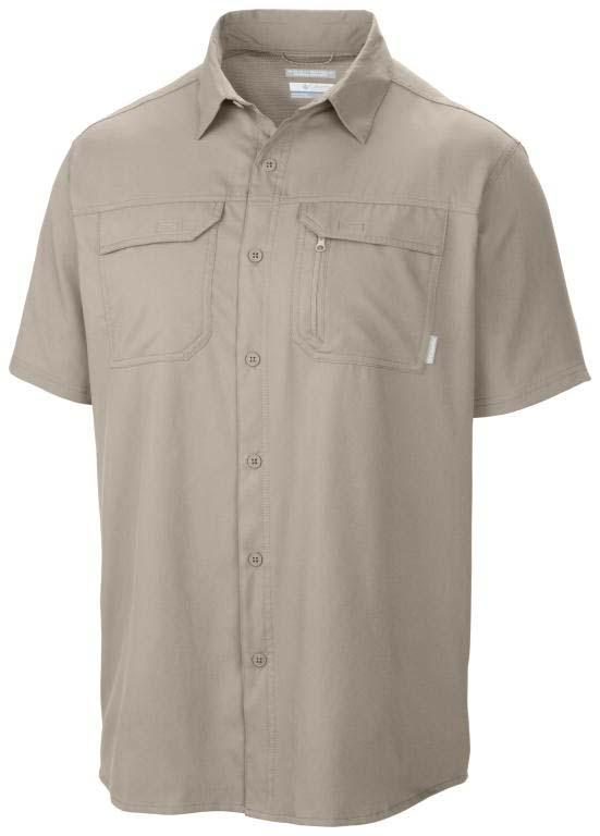 4fc35d352b0 COLUMBIA Voyager S/S Shirt Fossil buy and offers on Snowinn