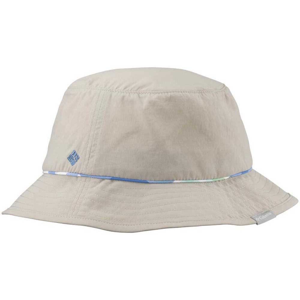 5885580bfe4dc Columbia Bahama Bucket Hat Fossil Harbor Blue Shadow Check