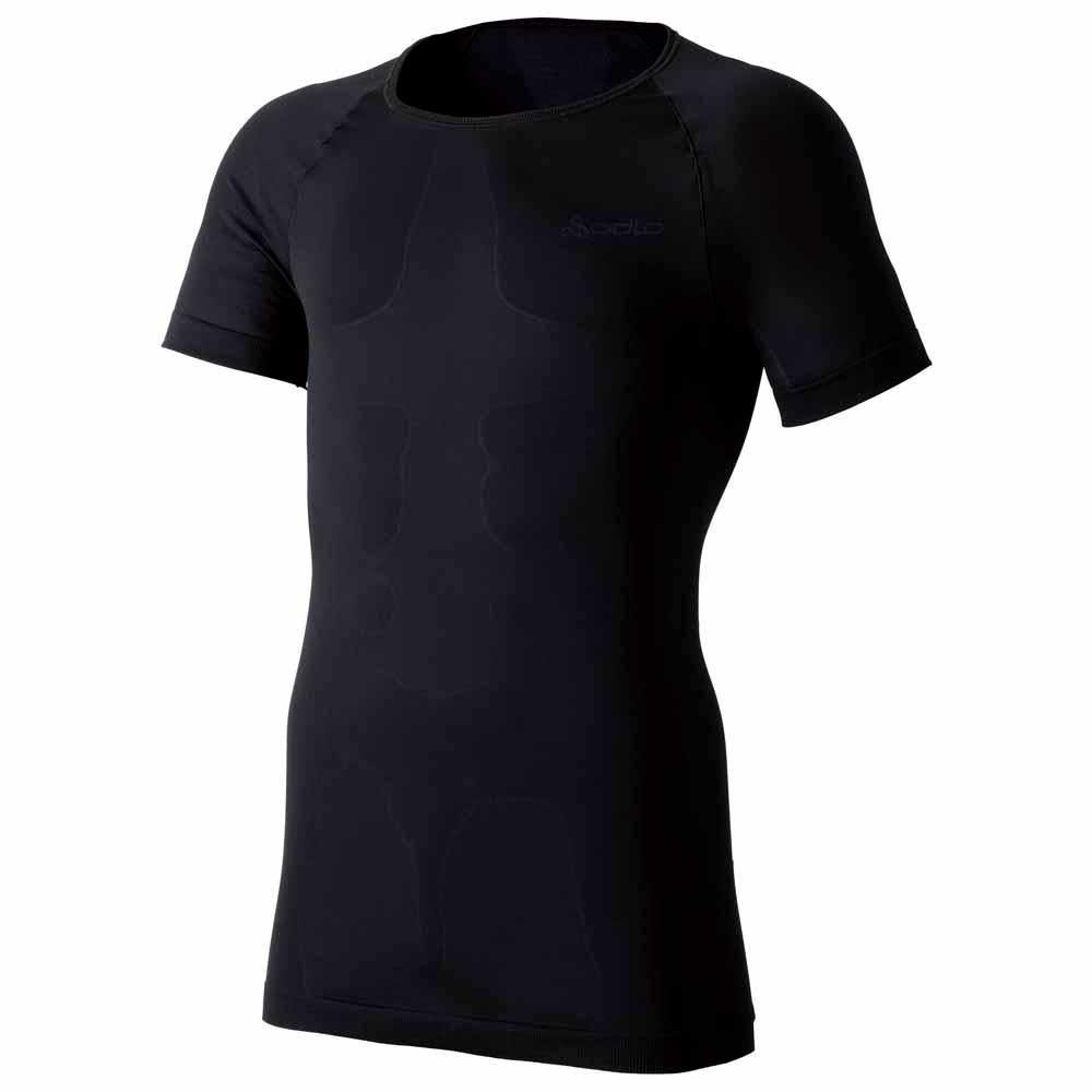 t-shirts-odlo-shirt-s-s-crew-neck-evolution-xlight-s-black-crew-neck