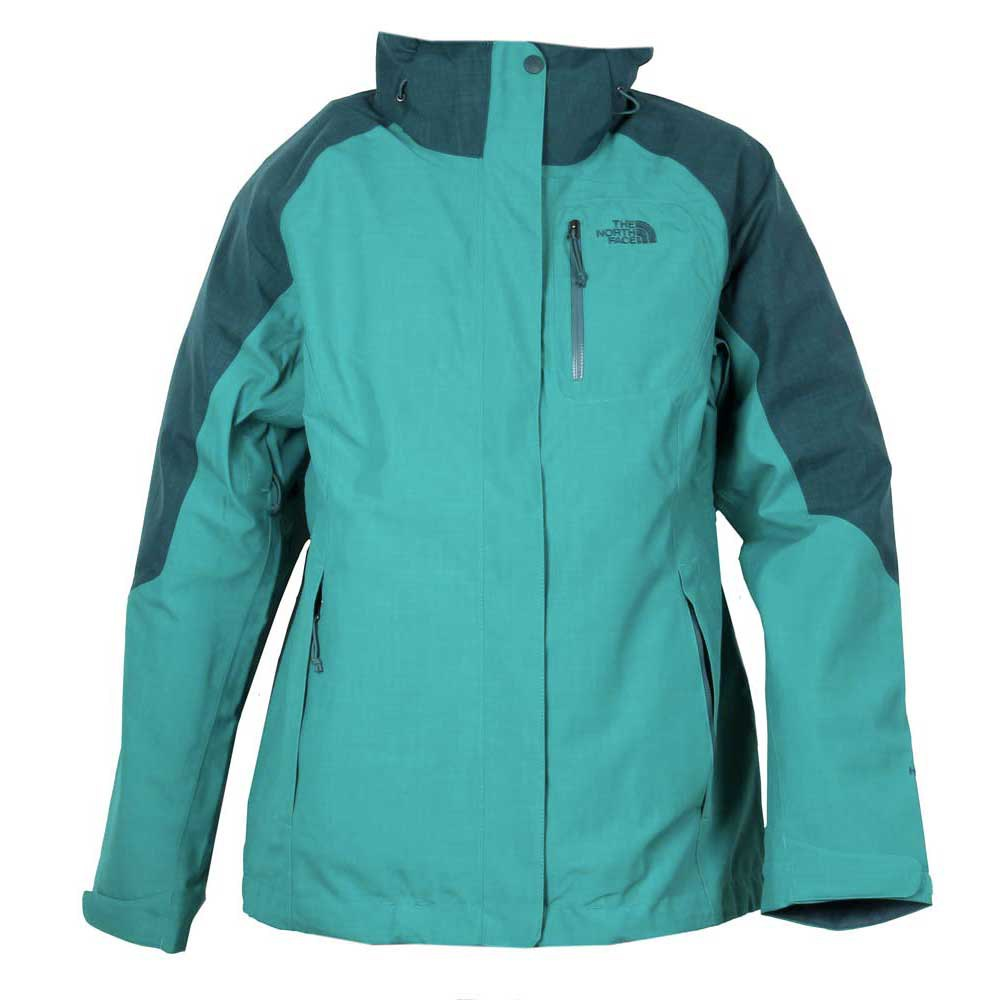 chaqueta the north face zenith triclimate azul mujer