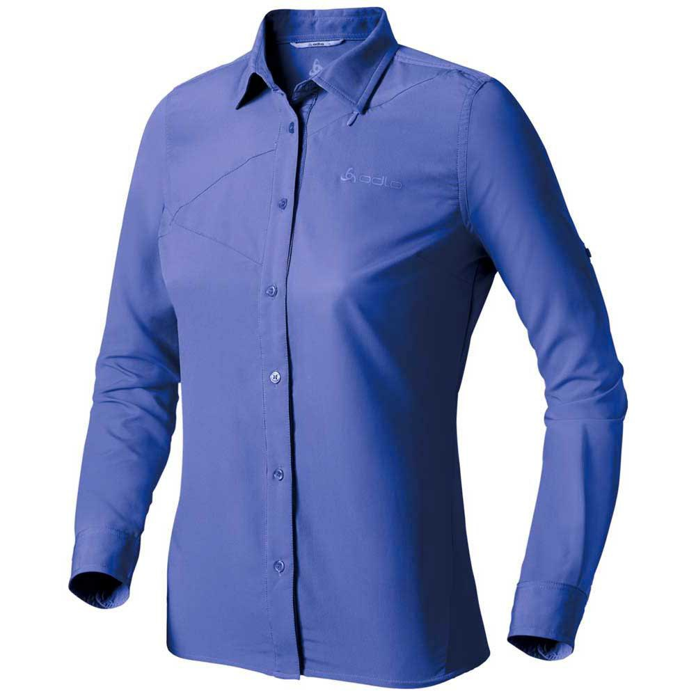 Odlo Blouse L/S Roll Up Check Out