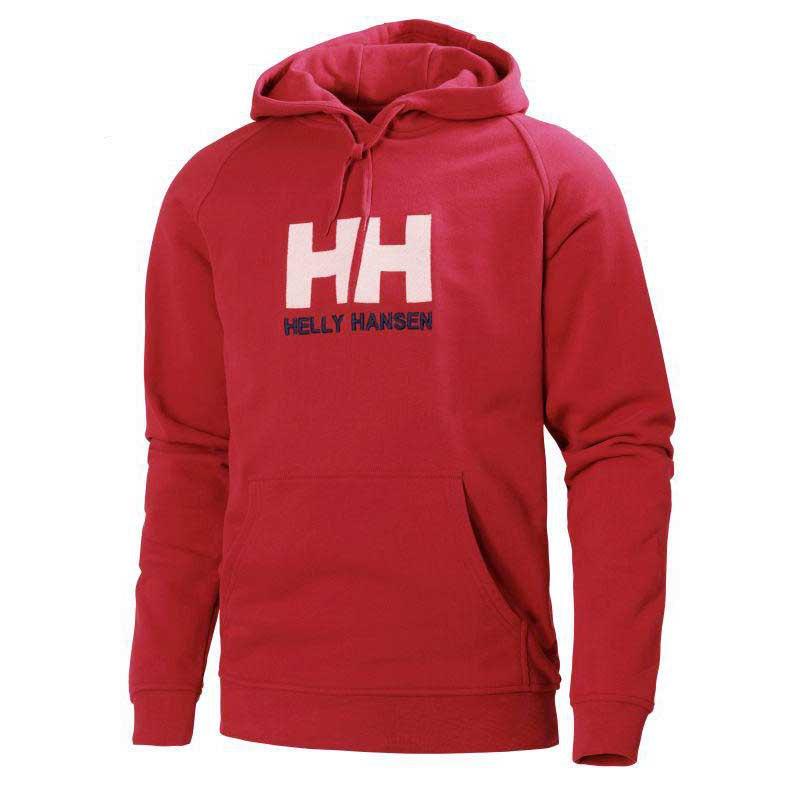 Helly hansen Hh Logo Hoodie Röd köp och erbjuder, Snowinn