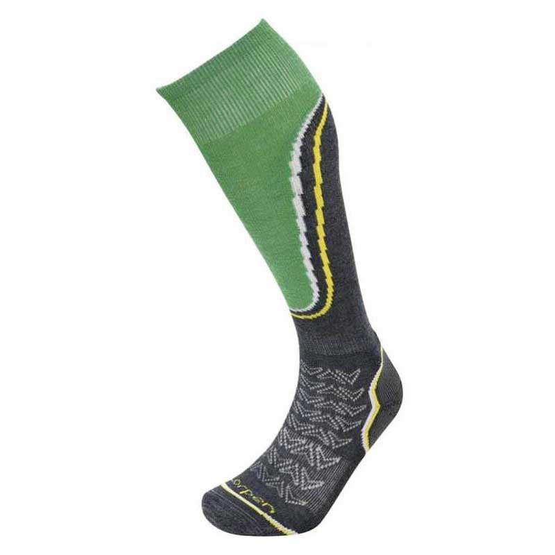 Lorpen Ski Midweight Charcoal / Green