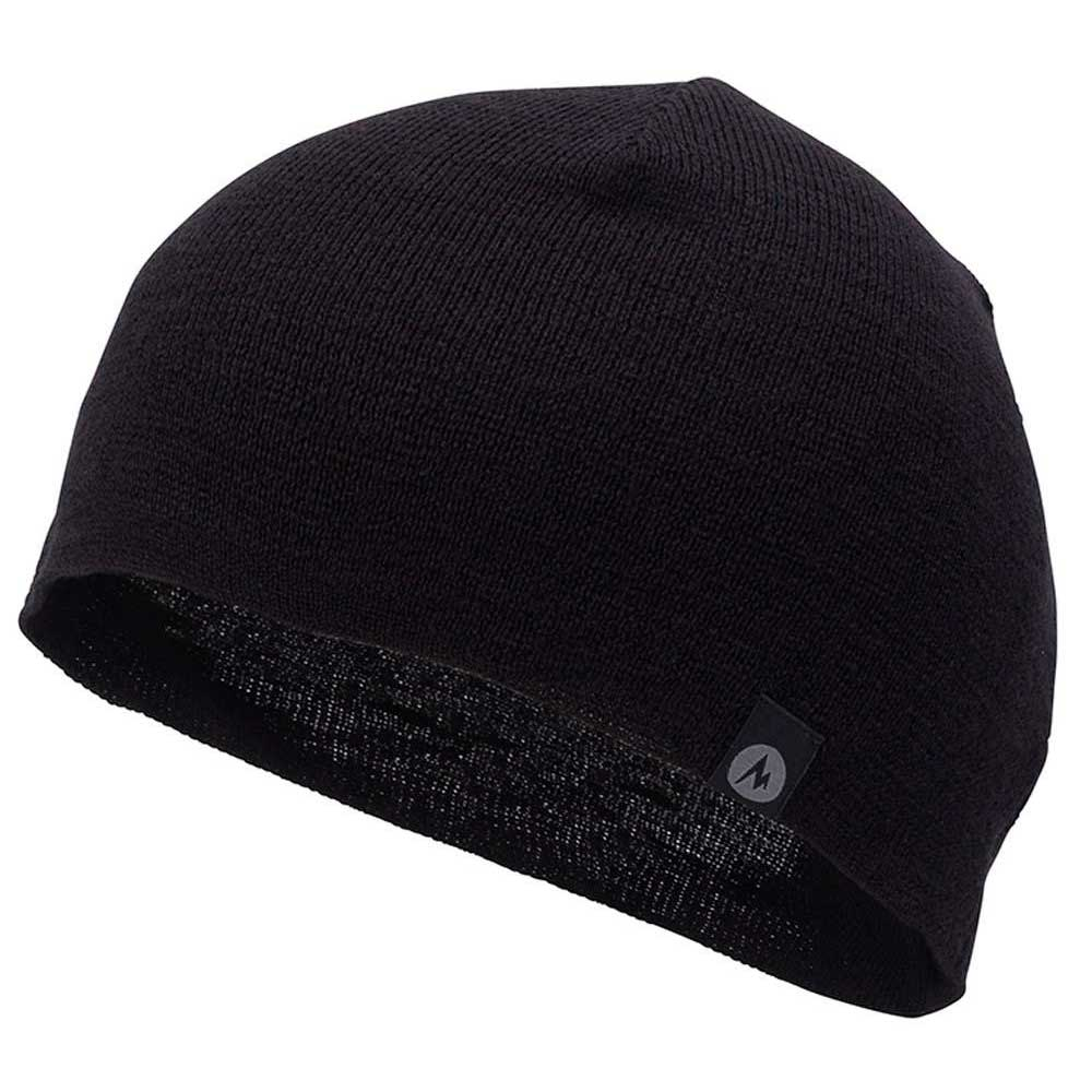 Marmot Lightweight Merino Beanie Black buy and offers on Snowinn 93a84eff2e9