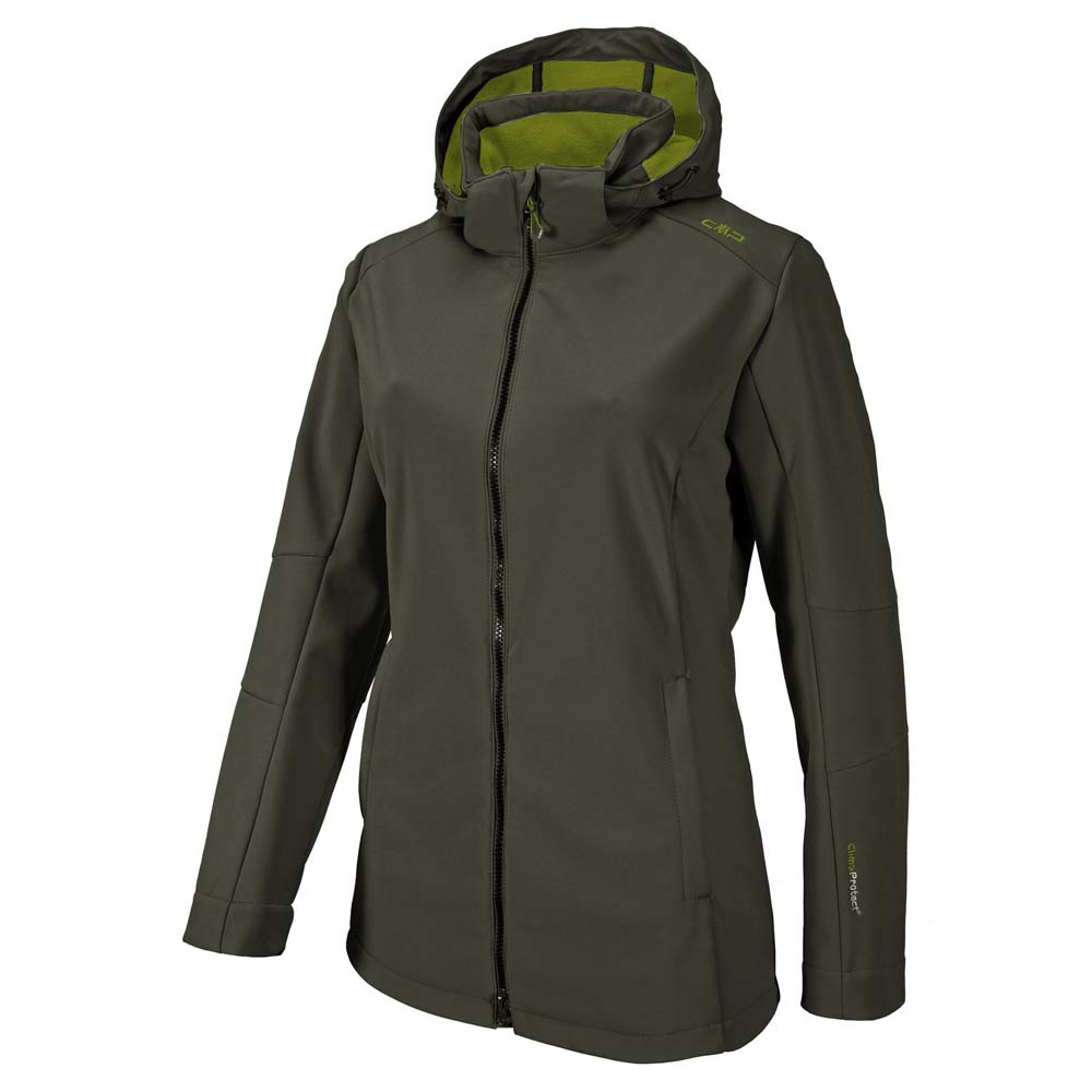 Cmp Softshell Jacket Zip Hood