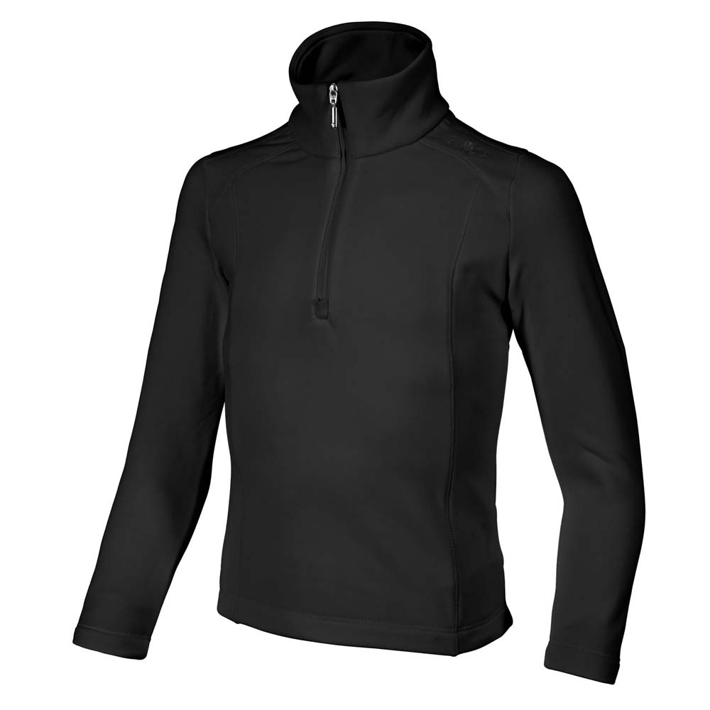 Cmp Fleece Sweat Nero Girls