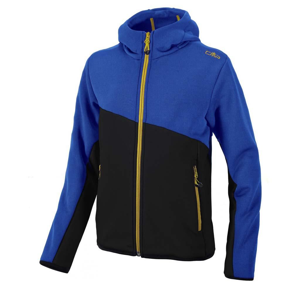Cmp Fleece Jacket Fix Hood Boys