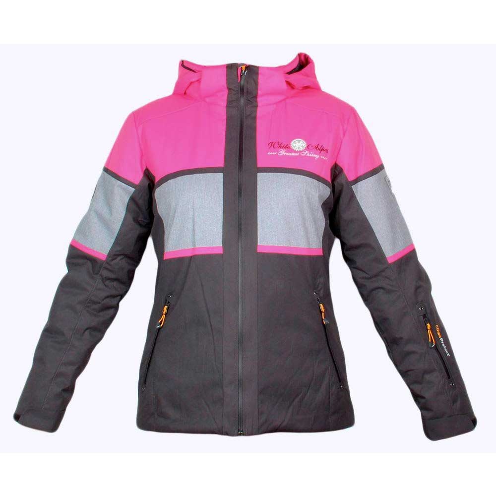 Cmp Jacket Stretch Snaps Hood Girls