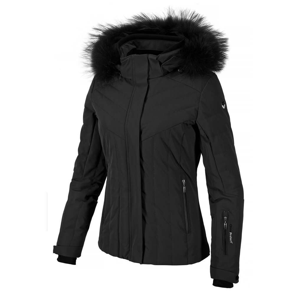Cmp Ski Down Stretch Jacket Zip Hood