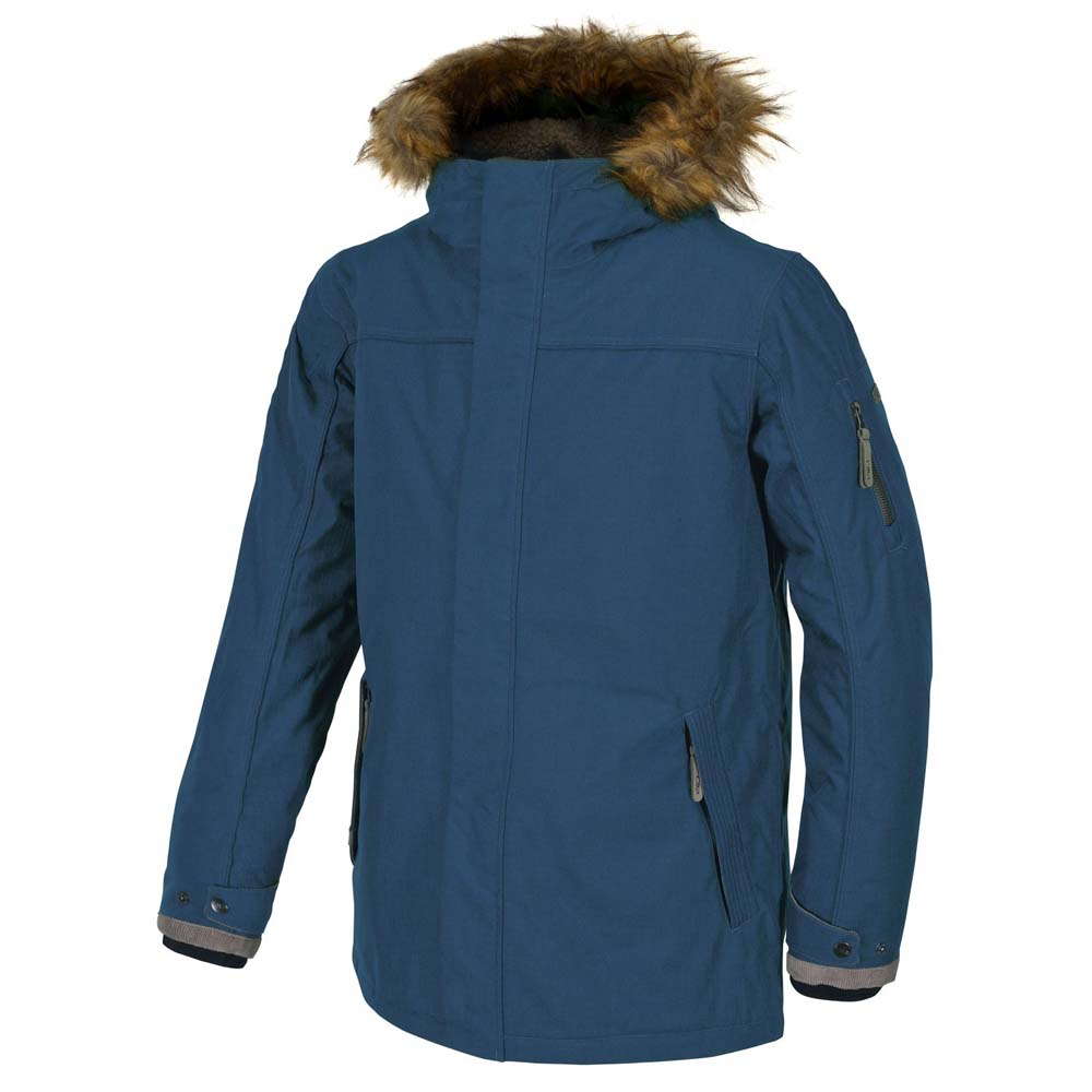 Cmp Jacket Eco Fur Fix Hood