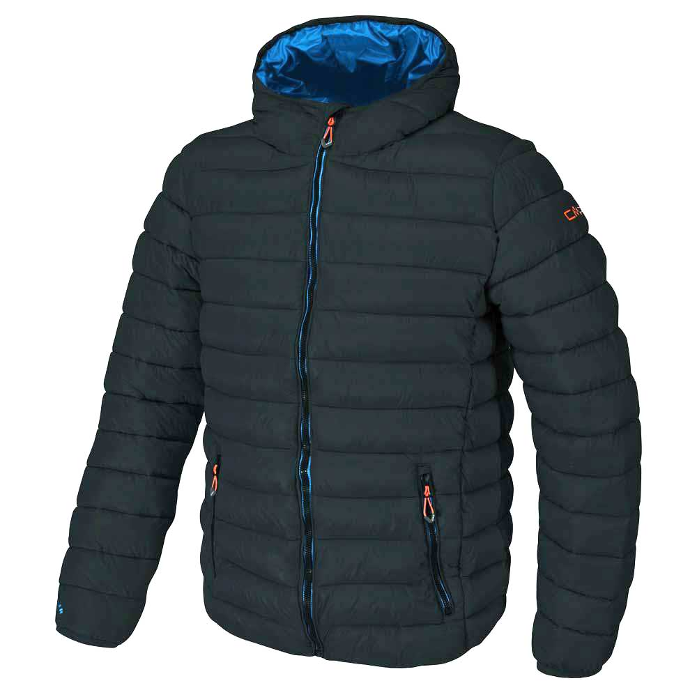 Cmp Jacket Fix Hood Anthracite