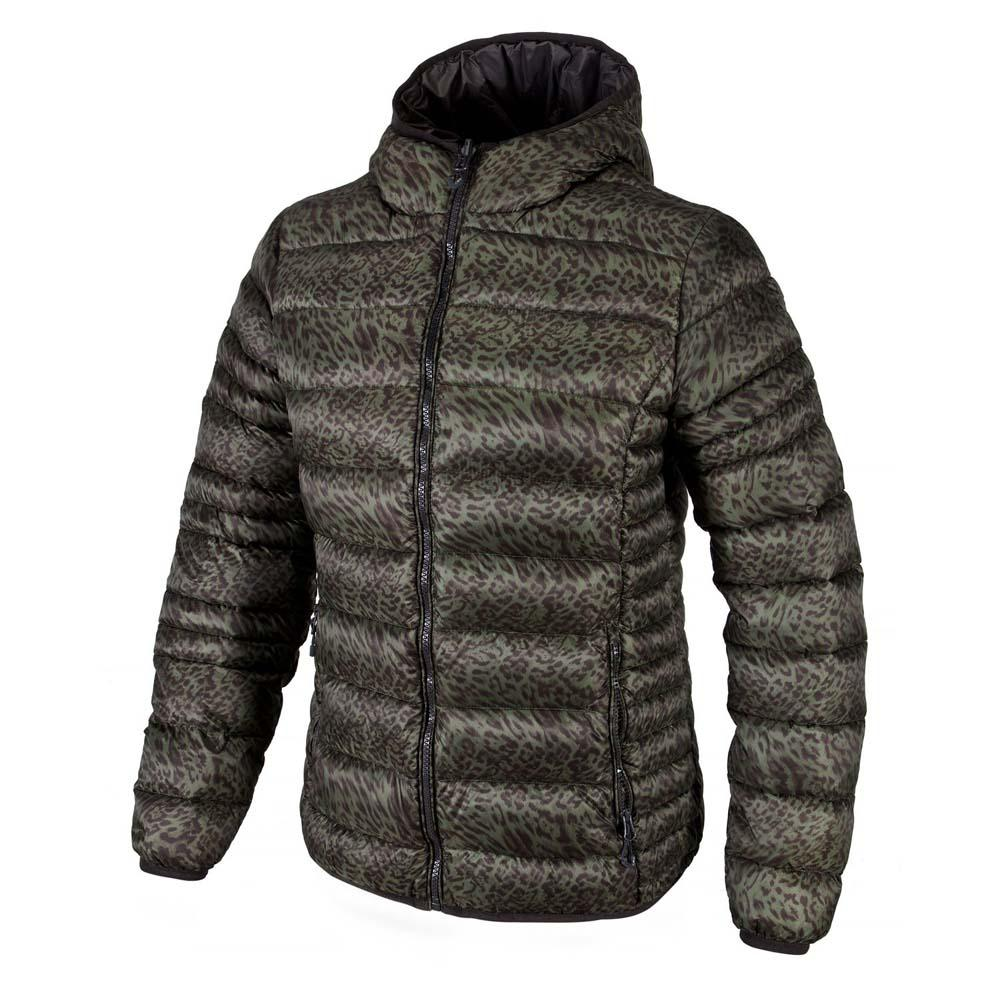 Cmp Down Jacket Printed Fix Hood