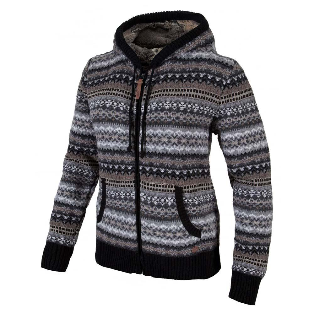 Cmp Knitted Pullover Full Zip Fix Hood