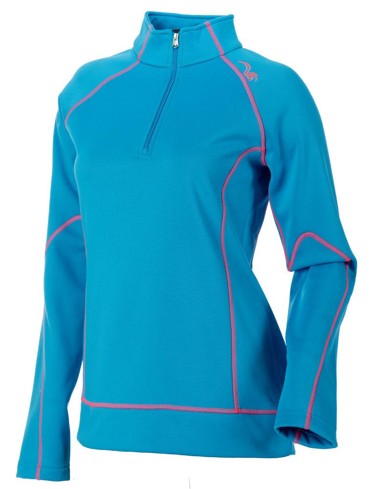 SPYDER Peach Therma Stretch T-Neck