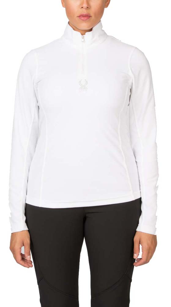 Spyder Shimmer Bug Velour Fleece T-Neck