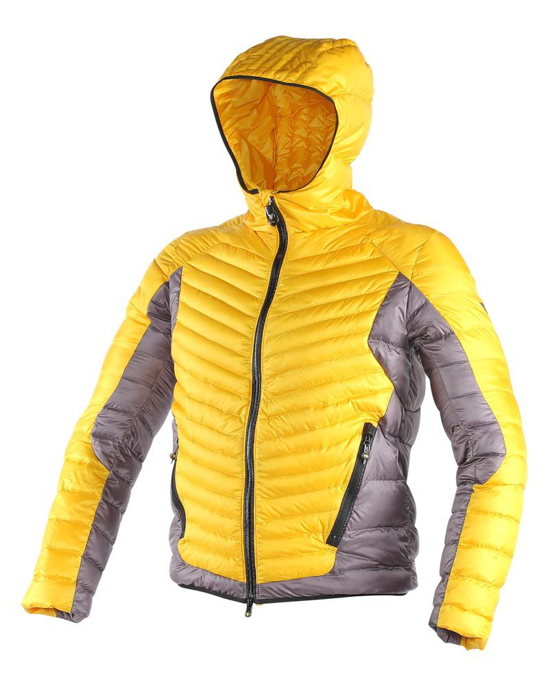 Dainese Cale Down Jacket Lemon-Chrome/Steel-Gray/Black
