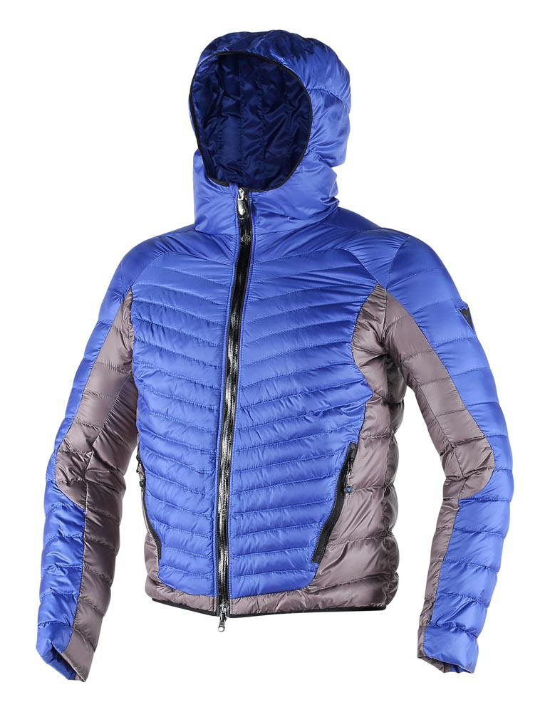 Dainese Cale Down Jacket Sky-Blue/Black/Steel-Gray