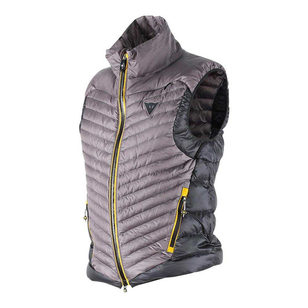 Dainese Pan Vest Steel-Gray/Black/Lemon-Chrome