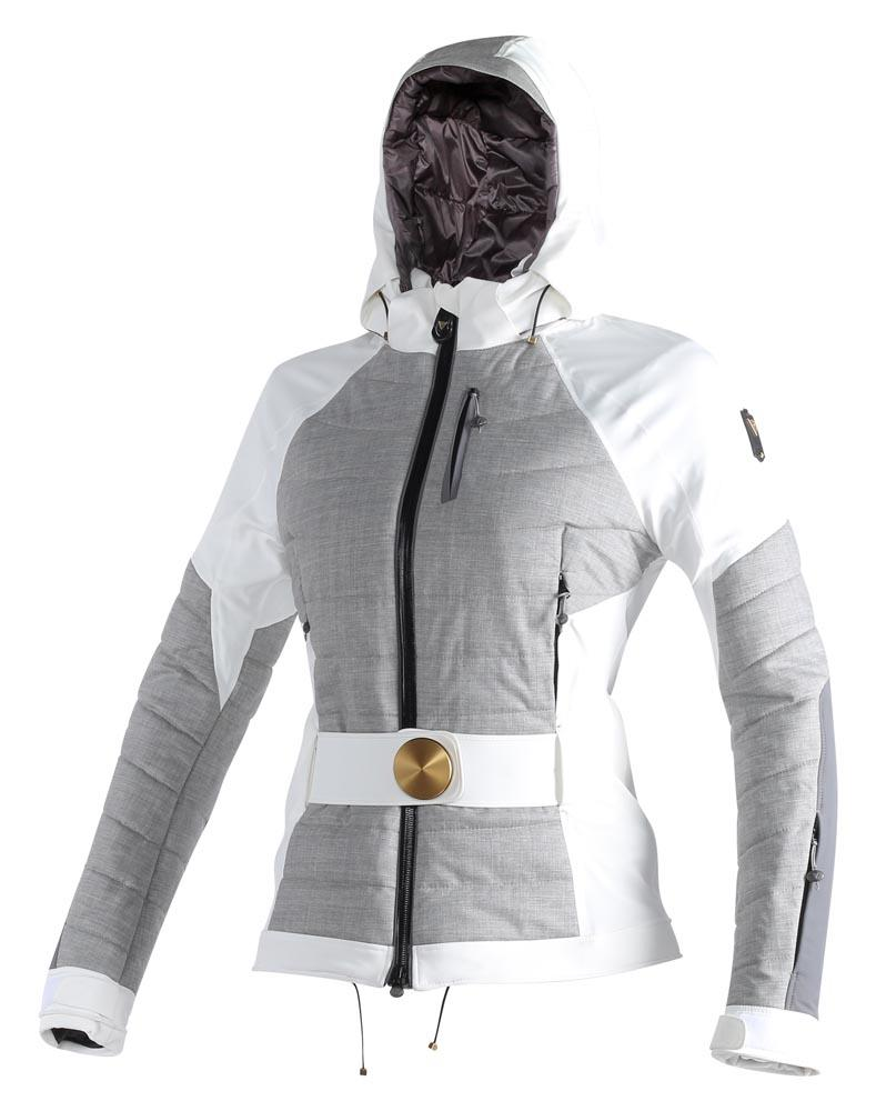 Dainese Mimas D-Dry Jacket White/Steel-Gray