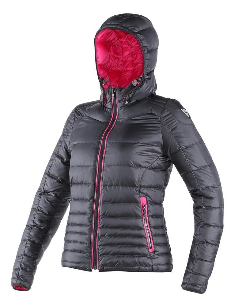 Dainese Ganimede Down Jacket Black/Fuchsia-Purple