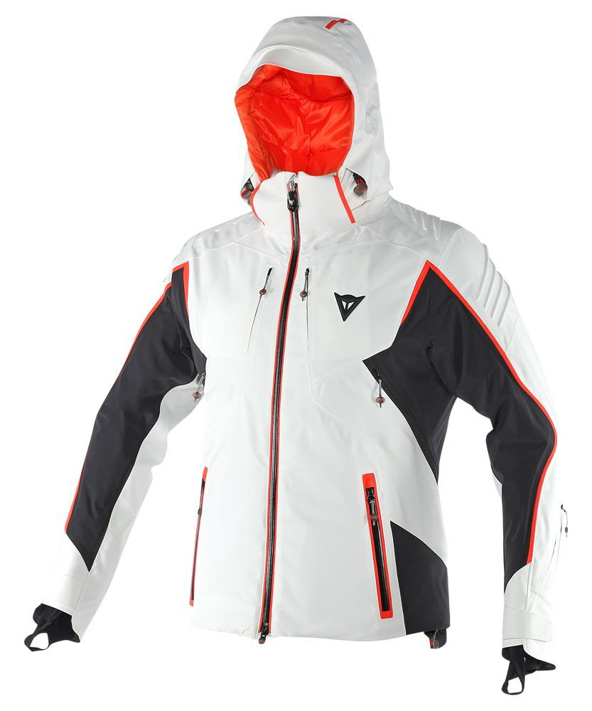 Dainese Prometeo Goretex Jacket White/Black/Light-Red