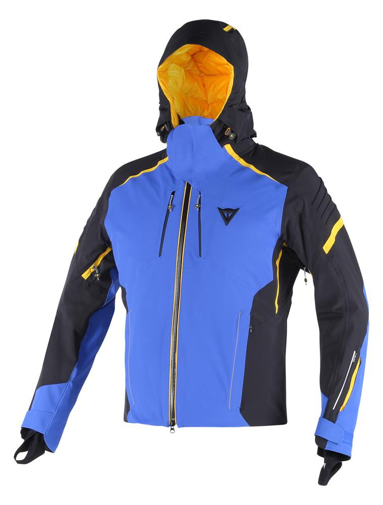 Dainese Fobos D-Dry Jacket Sky-Blue/Black/Lemon-Chrome