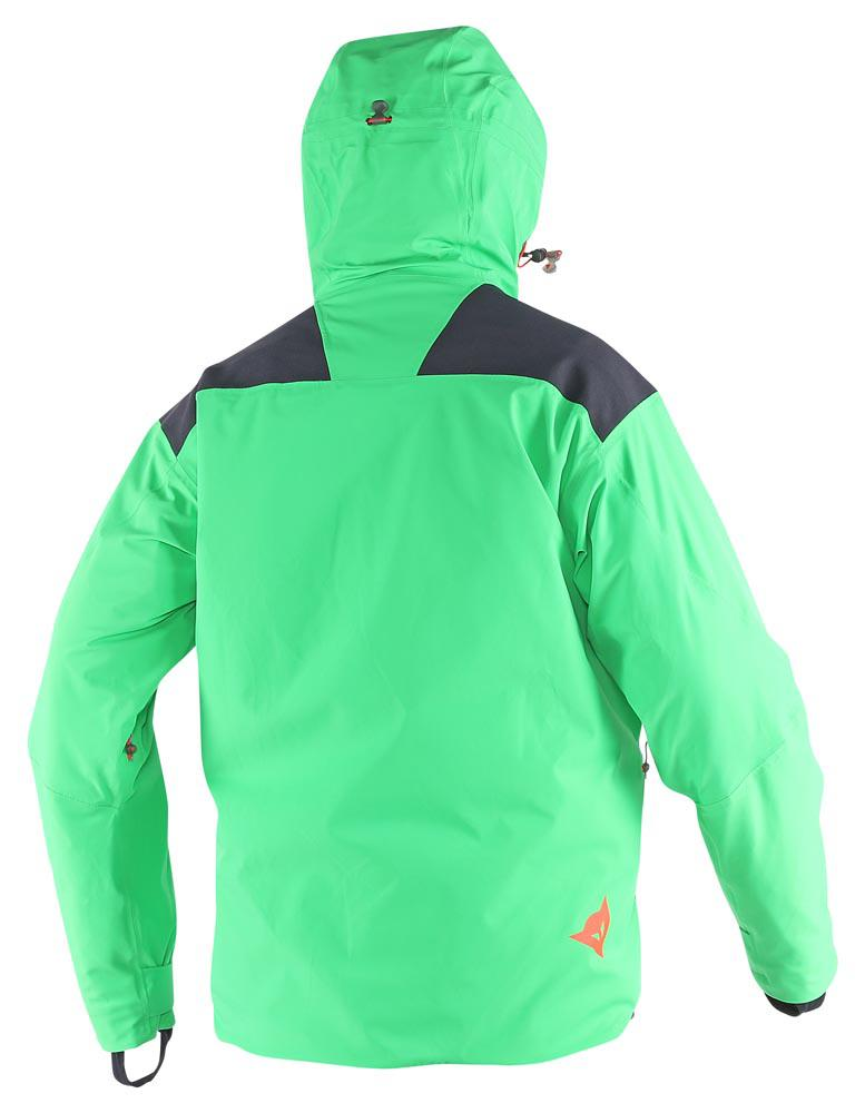Dainese Proteo D-Dry Jacket Eden-Green/Light-Red