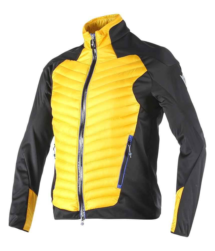 Dainese Tione Jacket Lemon-Chrome/Black/Sky-Blue