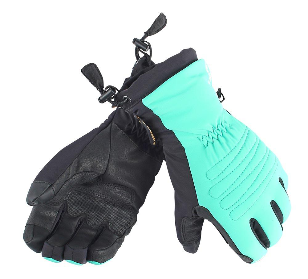 Dainese Janet 13 D-Dry Gloves Water-Green/Black