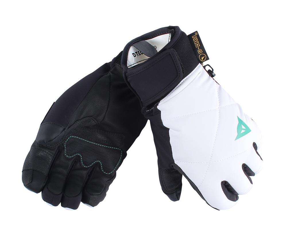 Dainese Natalie 13 D-Dry Gloves White/Black/Water-Green