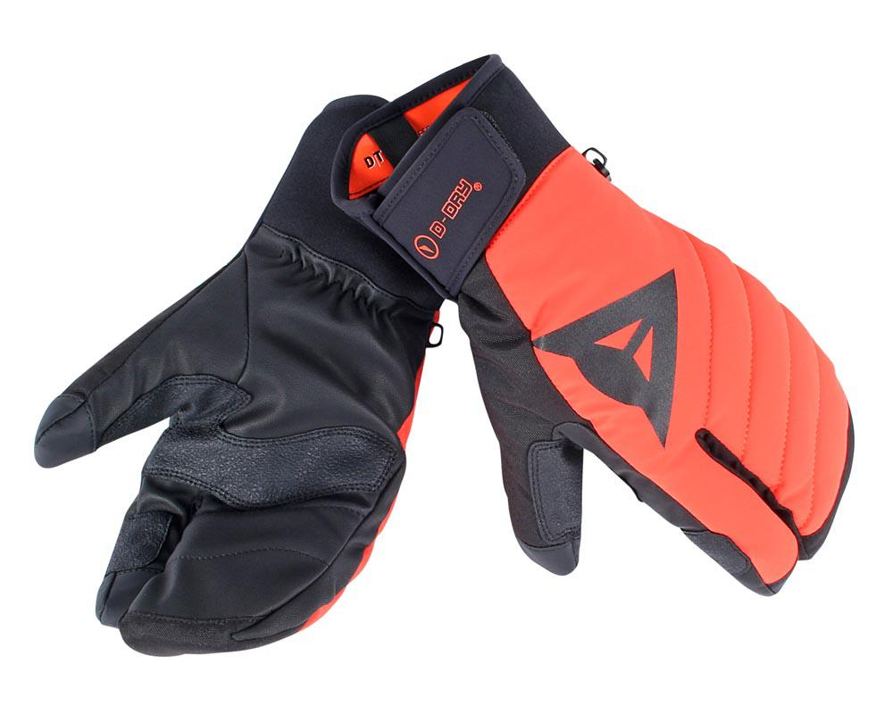 Dainese Mitten D-Dry Light-Red/Black