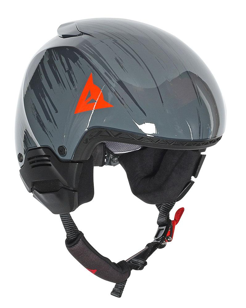 Dainese GT Rapid-C Evo Steel-Gray/Light Red