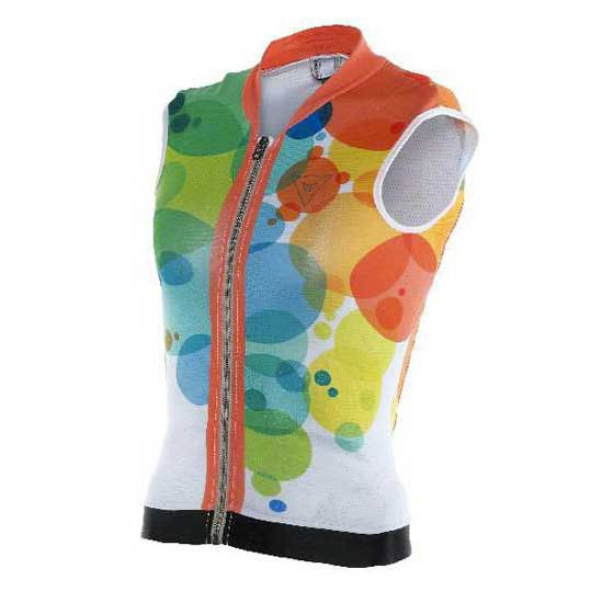 Dainese Waistcoat Soft Flex Planets/Light-Red Kid