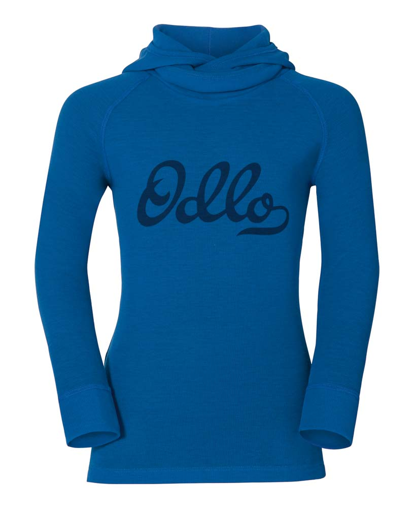 Odlo Shirt L/S With Facemask Warm Kids