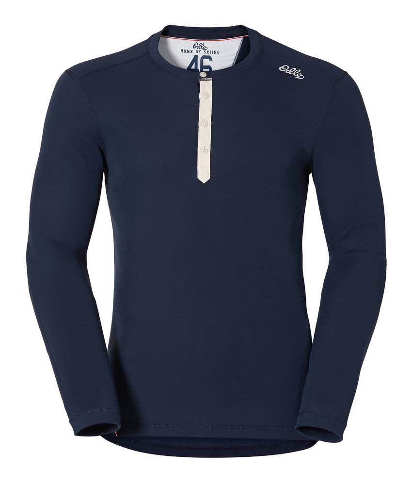 Odlo Shirt L/S Crew Neck Warm Vallée Blanche