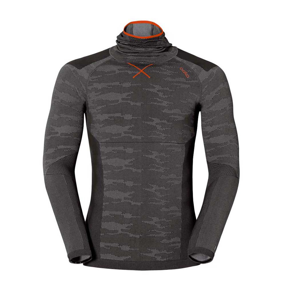 Odlo Shirt L/S With Facemask Evolution Warm B