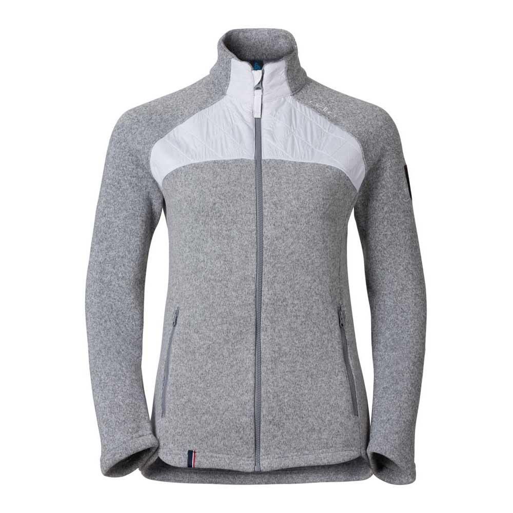 fleece-odlo-midlayer-full-zip-lucma-xl-grey-melange