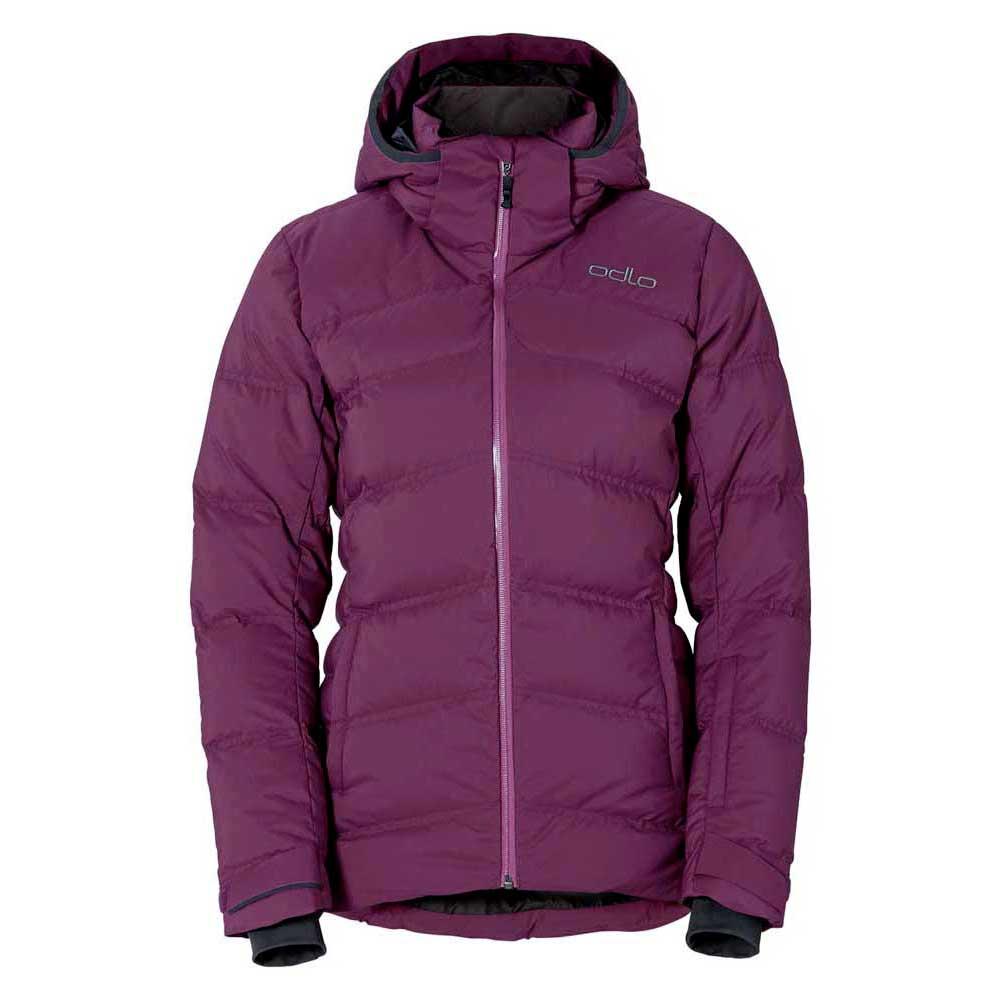 Odlo Jacket Insulated Ski Cocoon Purple, Snowinn