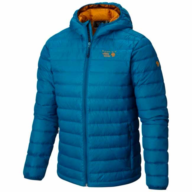 Mountain hard wear Micro Ratio Hooded Down
