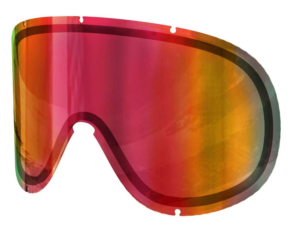 POC Ersatzscheibe Retina Big Spare Lens Sonar Orange