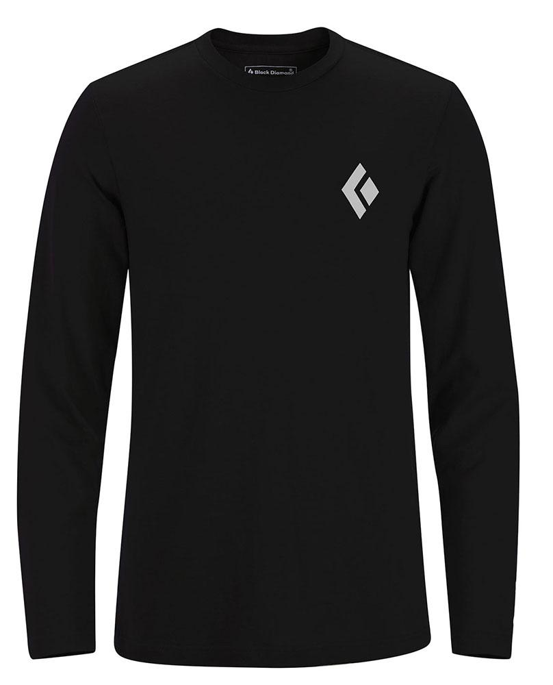 Black diamond L/S Bd Icon Tee