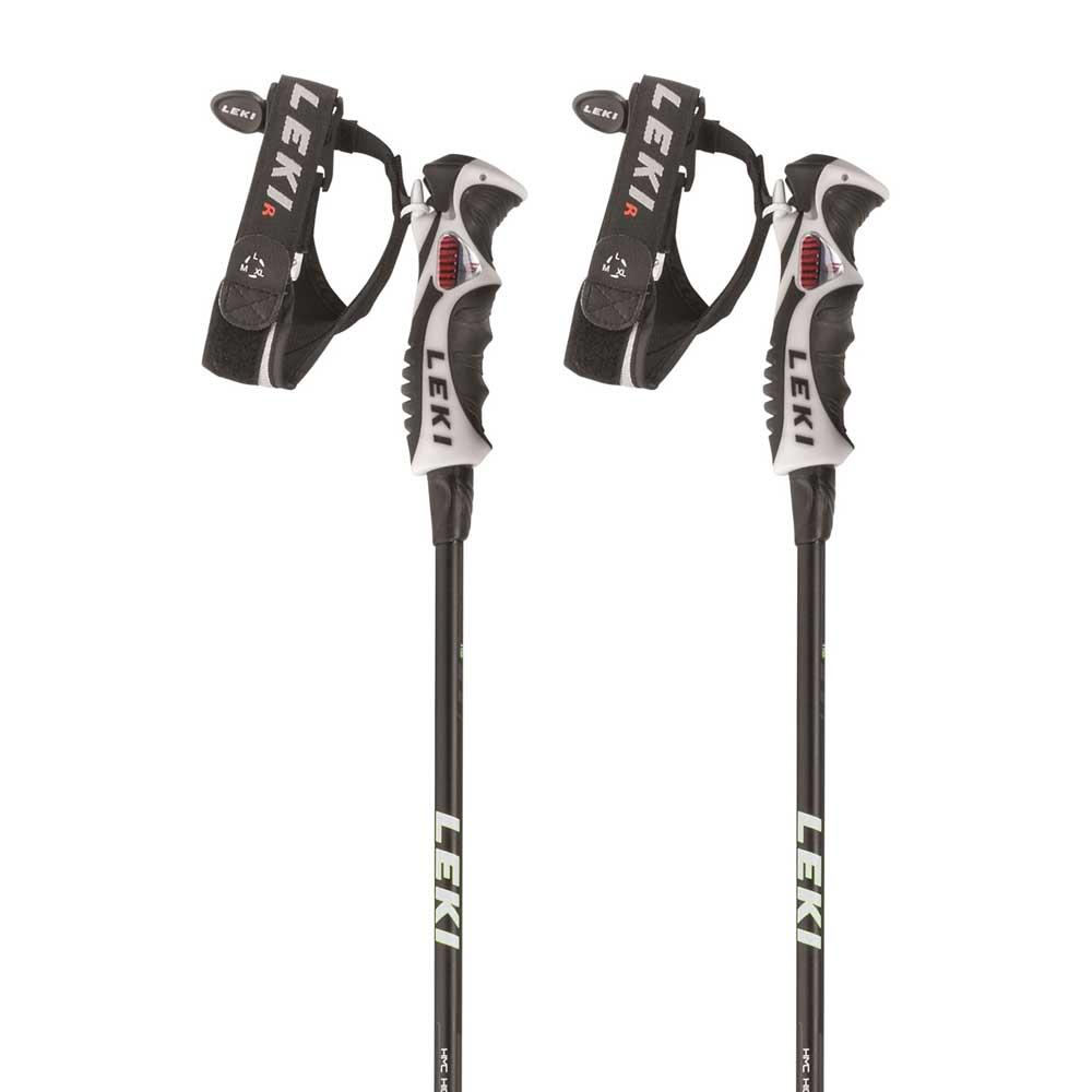 LEKI Carbon 11 3D B/âtons de ski unisexe avec d/éclencheur 3D 11 mm