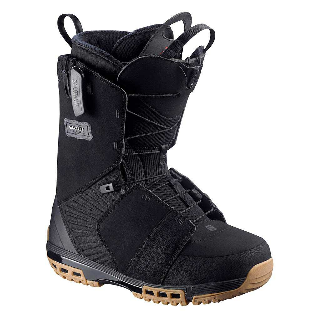 Salomon snowboard Dialogue Black/Gum Rubber/Black